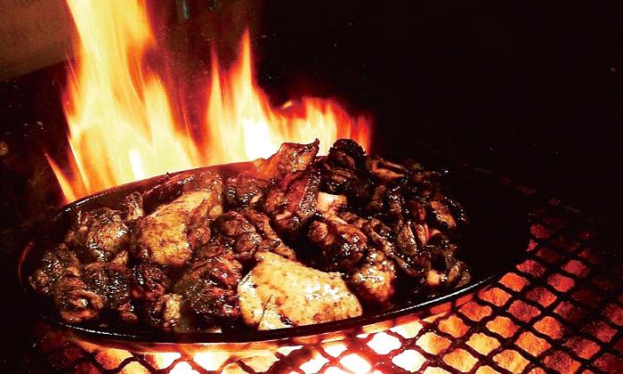 宮崎地鶏もも焼き 輪鶏