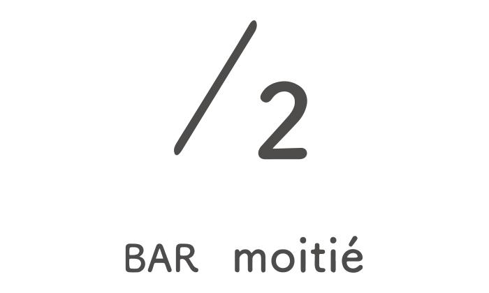 /2 BAR moitie